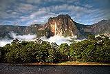 lunaprint View of Angel Falls Venezuela America Home Decor