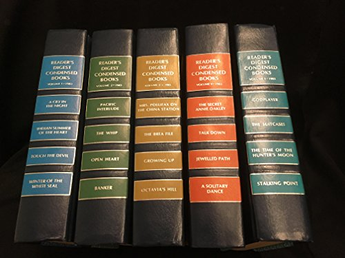 Reader's Digest Condensed Books, 1983, Vol. 5: Godplayer / The Suitcases / The Time of the Hunter's Moom / Stalking Point