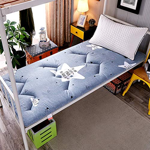 DJQ Tatami Mattress Thicken Foldable Mattress Tatami Mat Quilting Futon Pad Student Dormitory Mattress Pad Travel Mattress Topper J 90x200cm (35x79inch)
