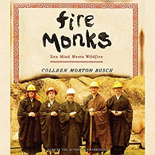 Fire Monks audiobook cover art