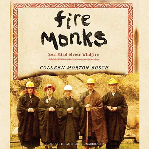 Fire Monks audiobook cover art
