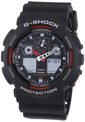 Casio G-Shock Herren Harz Uhrenarmband GA-100-1A4ER