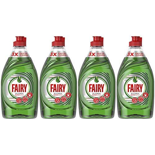 Fairy Platinum Washing Up Liquid Original 383ml, 4 Pack