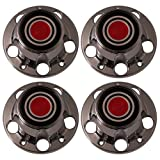 Set of 4 Replacement Aftermarket Center Caps Hub Cover Fits 15x7 Inch Steel Wheel - Part Number: IWCC2029R