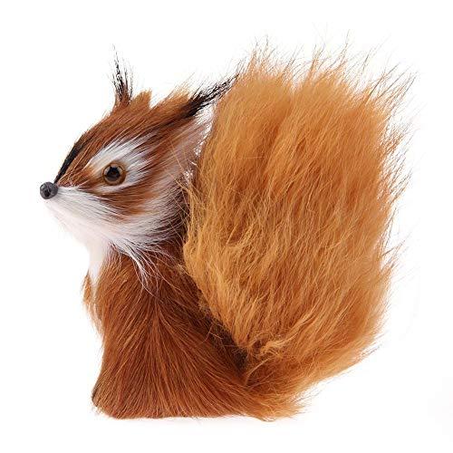 N-K Nette Simulation Eichhörnchen? Plüsch-Puppe-Spielzeug-Kind-Kind-Geburtstag-Geschenk kreative und nützliche