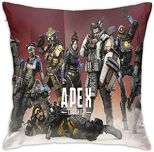 Ap-ex Leg-Ends Pillow Covers,Anime Washable Pillowcase, Home Sofa/Chair Seat Car/Bedroom/Living Room,Cushion Cover,Square Throw Pillowcase,Multiple
