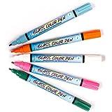 Baker Ross Glass-Malstifte In Hellen Farben (5er-Pack), zum Malen und Dekorieren von Kindern, ideal für Schule, Basteln zu Hause, Bastelgruppen, Party-Basteln und mehr -