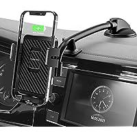MOKPR 15W Fast Wireless Charging Car Dashboard Windshield Mount & Holder
