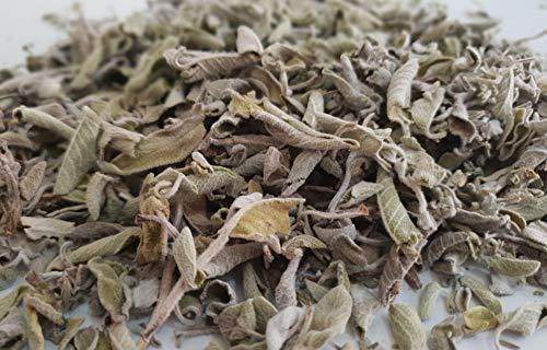 Wild Greek Sage Herbal Tea Whole Leaves 85 grams to 1950 grams Harvest June 2020 Salvia Triloba (950 grams)