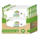 Baby Dove Toallitas Húmedas para bebés biodegradables - Pack de 12 x 75 (Total: 900 toallitas)