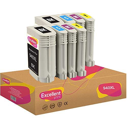 Excellent Print 940XL 940 XL Compatible Cartuchos de Tinta para HP Officejet Pro 8000 8500 8500A 8500A