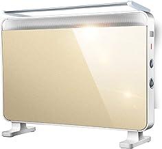 LKK-YSZWJ Radiadores Electricos WiFi Inteligente Vertical, Radiador Bajo Consumo Electrico Convector, Calefactor Baño Pared 2000W, Termostato,Control MecáNico, 3 Modos Calefactor