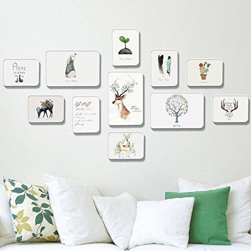 Cadre Photo Musique thème photo mur vidéo chambre accessoires instruments de musique canapé mural pendentif ( Couleur : Pattern 1 )