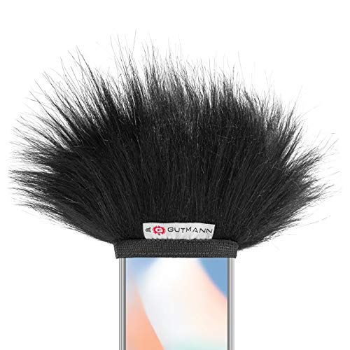 Gutmann Microfoon Windscherm voor Apple iPhone SE Premium Edition Black met voering