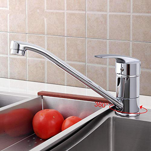 HUSHUN,Bathroom Sink Tap Modern Basin Mixer Tap Chrome Single Lever Washbasin Faucet Solid Brass Hot and Cold Mixer Taps@Russian Federation