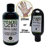 Zombie Grip Flüssigkreide, 50 ml (mit Karabiner) oder 250 ml Flaschen, die ultimative Flüssigkeitskreide für Klettern, Gewichtheben, Yoga, Stange, Calisthenics, Crossfit, 50 ml
