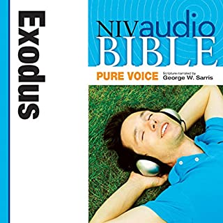 Pure Voice Audio Bible - New International Version, NIV (Narrated by George W. Sarris): (02) Exodus audiobook cover art