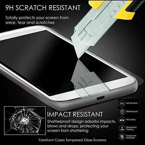 Forefront Cases Gehärtetes Glas Bildschirm Schutz Protektor Folie für Huawei MediaPad T2 10.0 Pro - HD Qualität Ultra Dünn nur 0.3mm - 2 Stück - 5