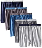 Fruit of the Loom Men's 5Pack Knit Boxer Shorts Boxers Cotton Underwear 2XL
