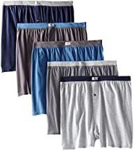 Fruit of The Loom Men's Big Soft Stretch-Knit Boxer (Pack of 5) (Assorted, Small 28-30