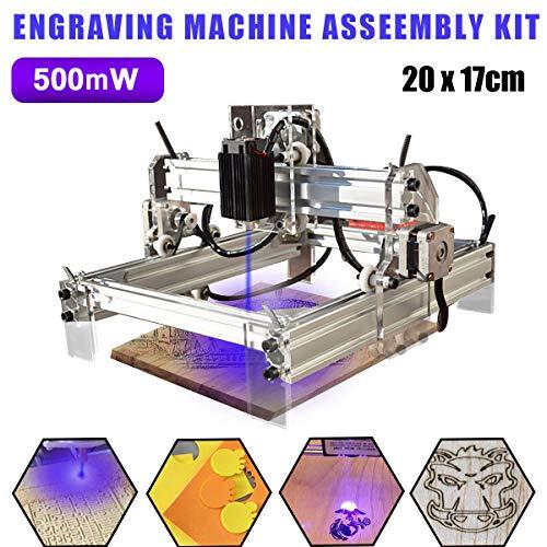 Pro 3Axis USB 500mW laser Madera graviermaschine