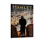 EWRW Hamlet-Poster auf Leinwand, Wandkunst, Deko,