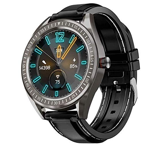 SVUZU Smartwatch, rastreador de Ejercicios, Contador de Pasos con Pantalla táctil Completa de 1.3', Monitor de frecuencia cardíaca y sueño IP68, Reloj Inteligente a Prueba de Agua para