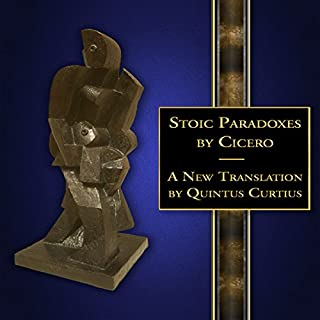 Stoic Paradoxes: A New Translation audiobook cover art