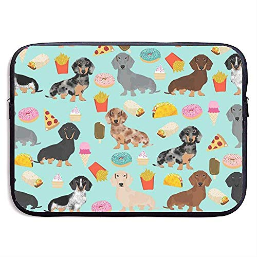Dachshund Brood Hond 15 Inch Laptop Sleeve Bag - Tablet Koppeling Draagtas