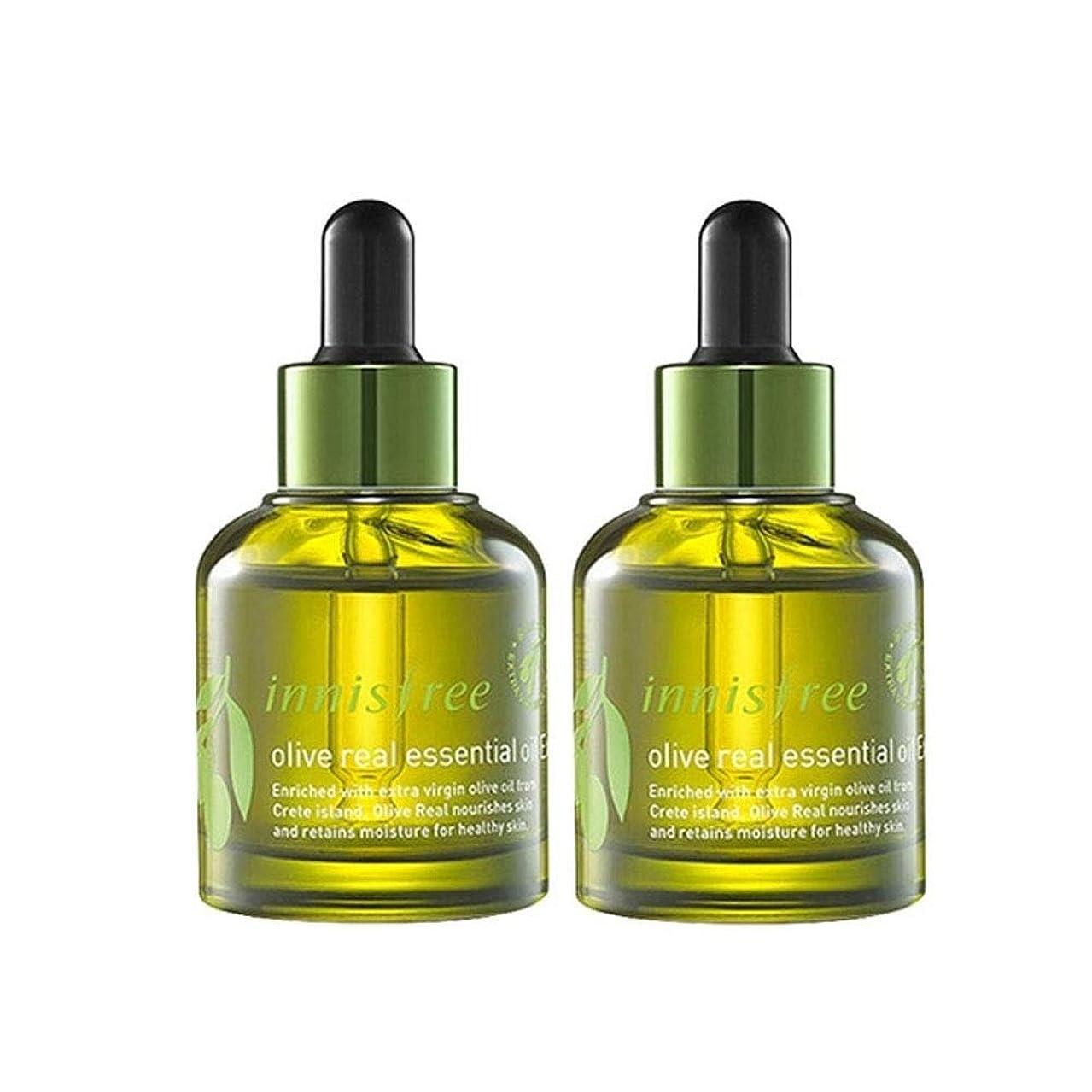 増強気づかないトーンイニスフリーオリーブリアルエッセンシャルオイルEx。 30ml x 2本セット保湿エッセンシャルオイル韓国コスメ、innisfree Olive Real Essential Oil Ex。 30ml x 2ea Set Korean Cosmetics [並行輸入品]