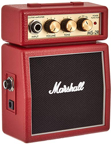 Marshall MS2 Mini Amp, red [UK Import]