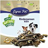 Lyra Pet® 1 kg Rinder Pansen 1000 g getrocknet Pansen Kausnack Futter Kauartikel