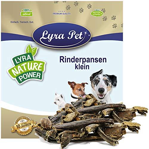 Lyra Pet® 10 kg Rinder Pansen 10000 g getrocknet Hundefutter Pansen Kausnack