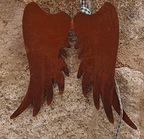 Edelrost Flügel Zum Aufhängen 30 cm Engelsflügel Weihnachten Advent
