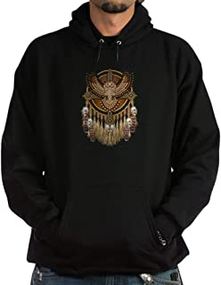 CafePress Native American Owl Mandala 1 Sweatshirt