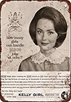 1963ケリーガールサービスティンサイン