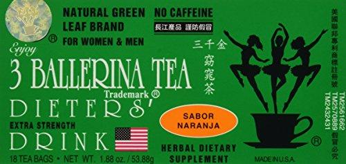 3 Ballerina Tea Extra Strength Dieters' Drink