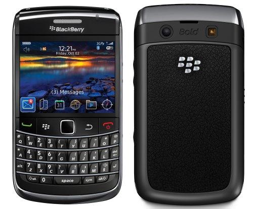 BlackBerry 9700 Smartphone (6,1 cm (2,4 Zoll) Display, 3,2 Megapixel Kamera) schwarz mit T-Mobile Branding