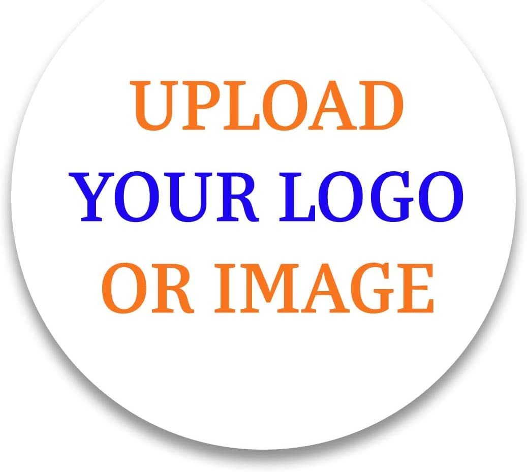 70 mm Gloss Vinyl Decal Your Design Labels Mini Stick Business Logo Stickers