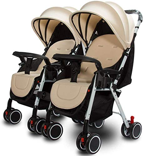 Buy Discount Baby Stroller Baby Carriage Twin Baby Stroller 0-36 Months Baby Stroller Portable Foldi...