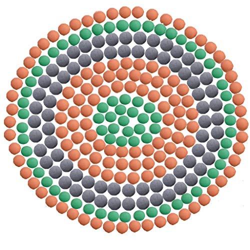 Duschkopf Filter 200g Mineralperlen für Duschkopf 3 Packungen Wasserfilter Erweicht Hartes Wasser,Reduzieren Sie Chlor, Kalk und Fluor