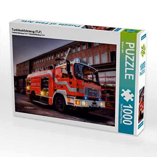 CALVENDO Puzzle Tanklöschfahrzeug (TLF) 1000 Teile Lege-Größe 64 x 48 cm Foto-Puzzle Bild von Markus Will