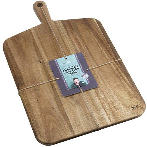 Jamie Oliver Jo Planche à découper en acacia, marron, Taille L, 52 x 32 x 2 cm