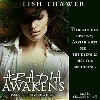 Aradia Awakens audiobook cover art