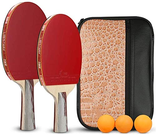 Buy Discount Professional Ping Pong Paddle Racket Professional Table Tennis Bats Table Tennis Ball S...