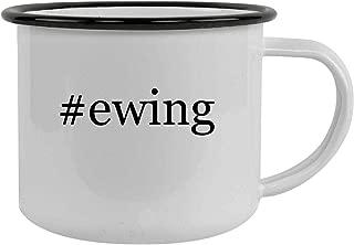 #ewing - 12oz Hashtag Stainless Steel Camping Mug, Black