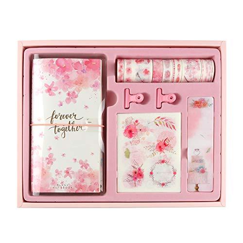 Molshine Washitape, Masking-Tape, Klebeband, für DIY, Deko, Basteln, Geschenkverpackung, Scrapbook 1-Streamer Cherry Blossom