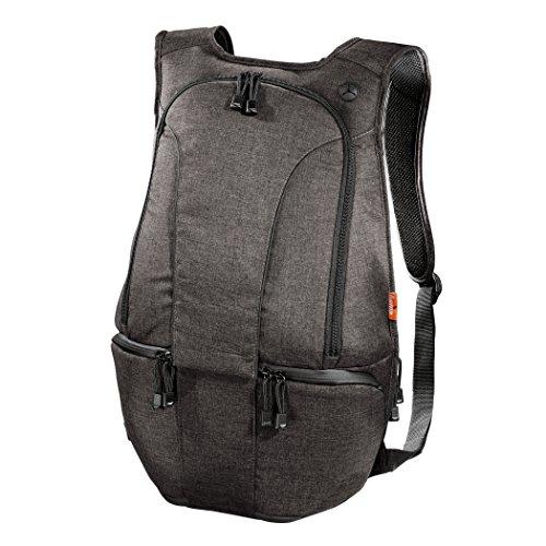 Hama 00126638 Mochila Negro Estuche para cámara fotográfica - Funda (Mochila para Tablet, Universal, Compartimento del portátil, Negro)