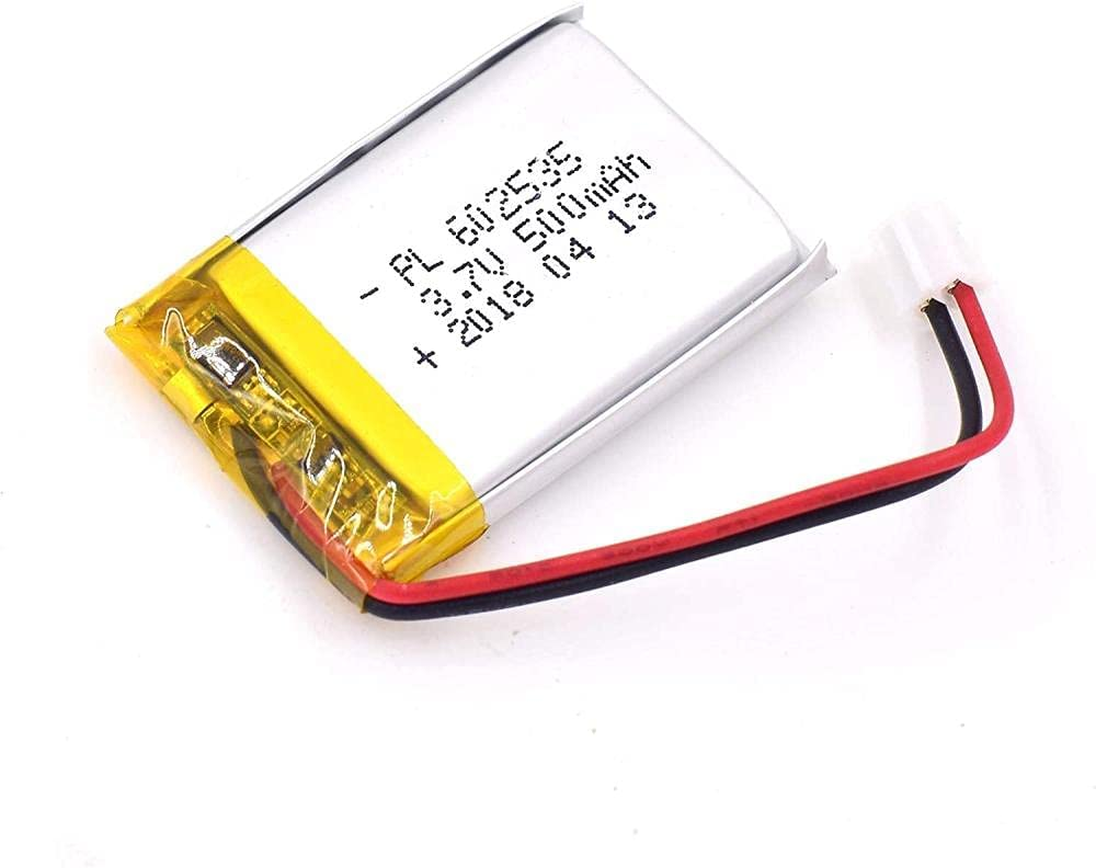 DWXW 3.7V 500mAh Great interest 602535 Lipo Polyme Battery SEAL limited product Rechargeable Lithium