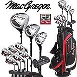 MacGregor CG2000Haute Lancement de l'homme Complet kit de Golf Graphite avec fers + Deluxe Sac de Golf Chariot, Gratuit Parapluie Worth £ 24.99